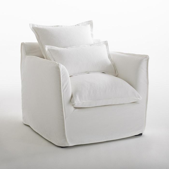 Image Fauteuil en coton/lin confort, Odna Bultex La Redoute Interieurs