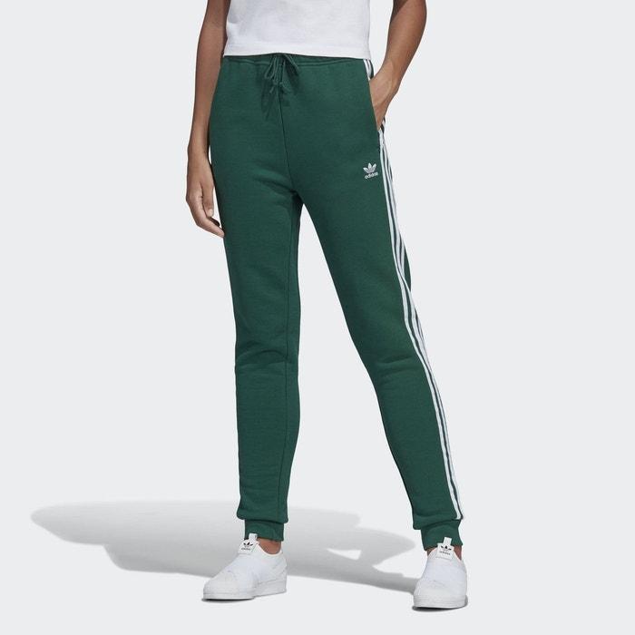 Pantalon de survêtement cuffed vert Adidas Originals   La Redoute 29e984f22f1f