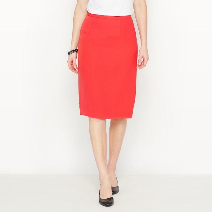 Image Pencil Skirt in Stretch Twill ANNE WEYBURN