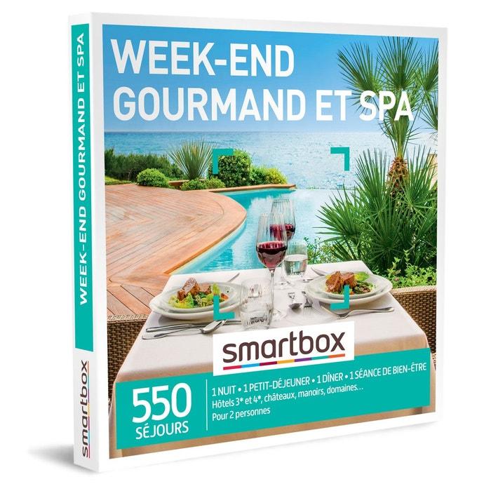 week end gourmand et spa smartbox coffret cadeau s jour smartbox la redoute. Black Bedroom Furniture Sets. Home Design Ideas
