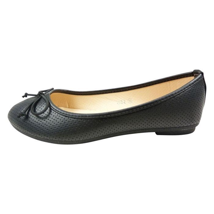 CHAUSSMARO - Ballerines à petit noeud, chaussures plates motif troué | La  Redoute