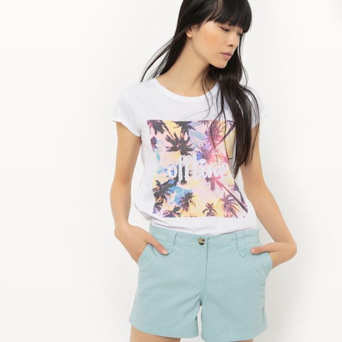 cotton palm print t-shirt