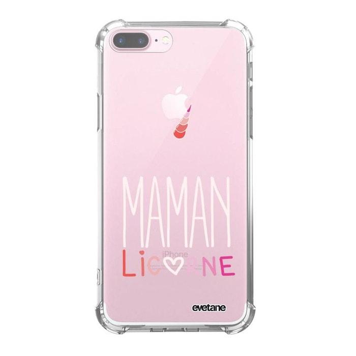 coque iphone 7 plus silicone licorne