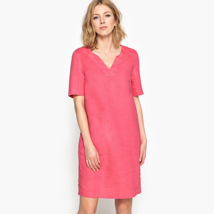 Linen Shift Dress  ANNE WEYBURN image 0