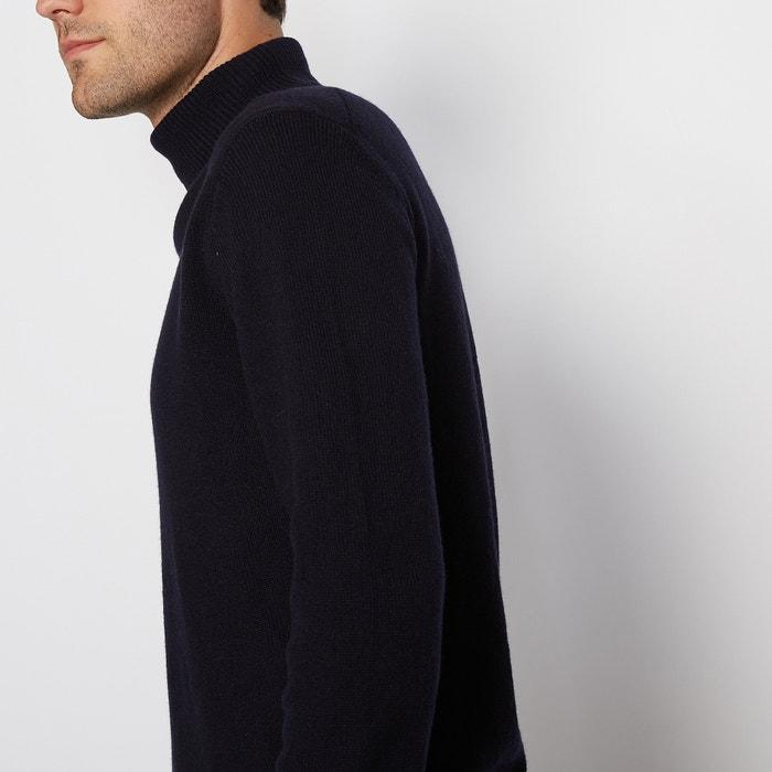Redoute Jersey lana 100 Collections de enrollado lambswool cuello La Hq71dq