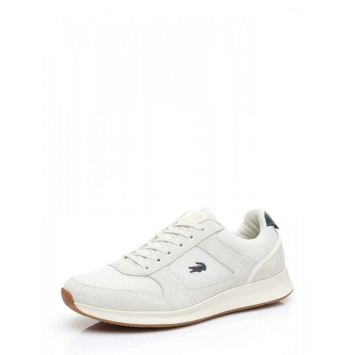 new style 46f54 c5c61 Basket lacoste joggeur 118 1 spm - 735spm00141y5 blanc Lacoste   La Redoute