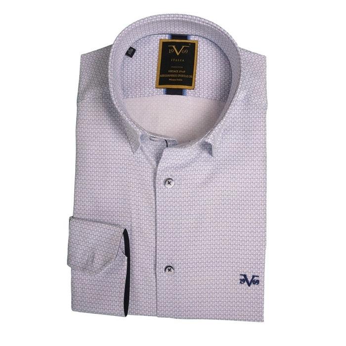 10fc77f53c5183 Chemise homme monza imprimé avec sa pochette cadeau blanc Versace 19.69    La Redoute