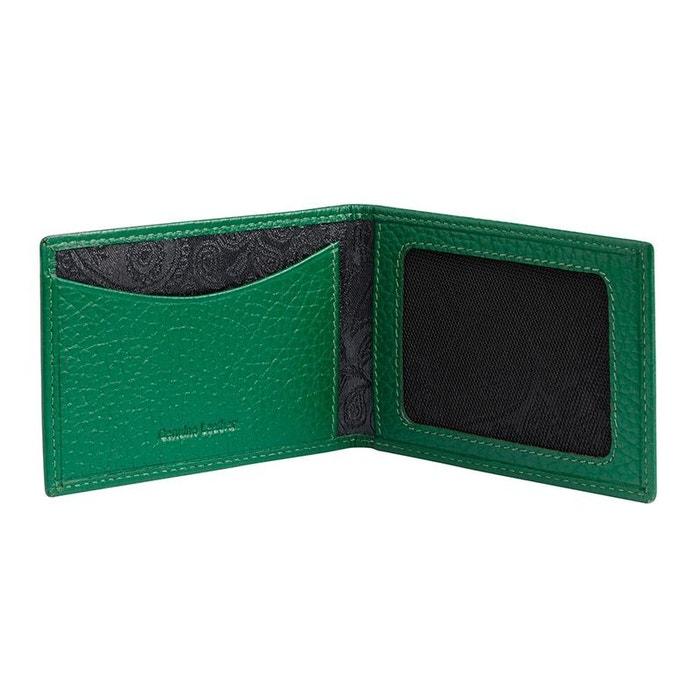 Portefeuille cuir, simon carter, vert vert Simon Carter | La Redoute
