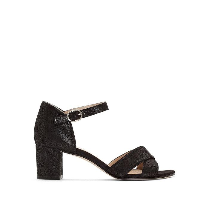 Sandales cuir dorival   noir Jonak   La Redoute