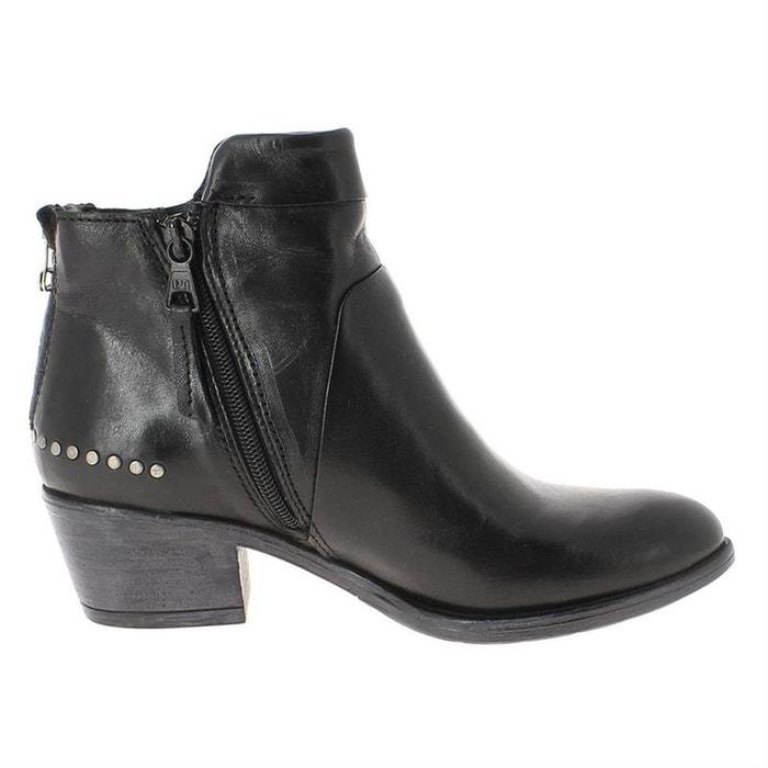 Bottines / boots cuir noir Mjus Vente Boutique En Ligne Livraison Gratuite 2018 Unisexe Sites En Ligne Pas Cher Réel La Vente En Ligne 0cjWVIMc