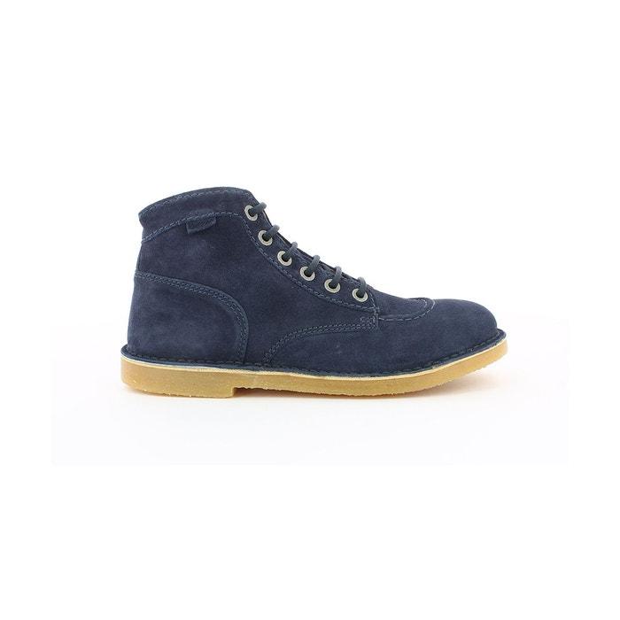 Boots et bottines cuir homme orilegend marine Kickers