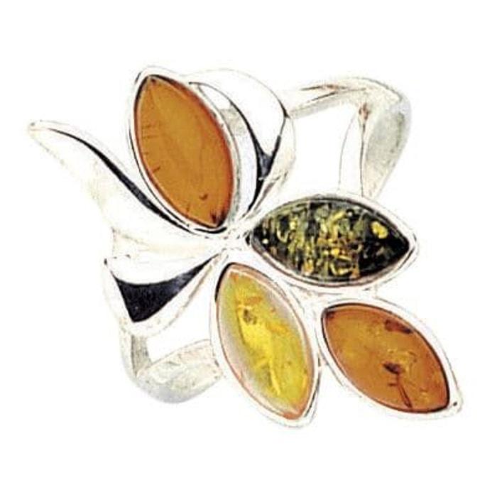 Vente Meilleur Prix limité Bague anneau joaillerie fleur ambre 17 mm argent 925 couleur unique So Chic Bijoux | La Redoute Sites À Bas Prix Prix De Gros En Ligne xaq85cW3d