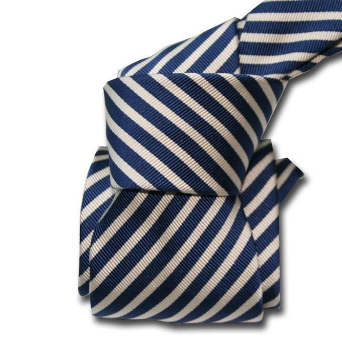 Cravate luxe segni disegni, mogador, brescia, marine marine Segni Et Disegni | La Redoute