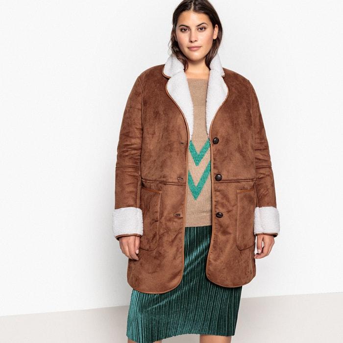 Manteau court simili, doublé sherpa  CASTALUNA image 0