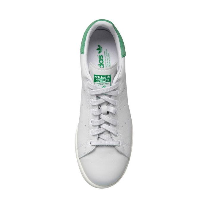 Baskets femme basses stan smith adidas blanc vert blanc Adidas