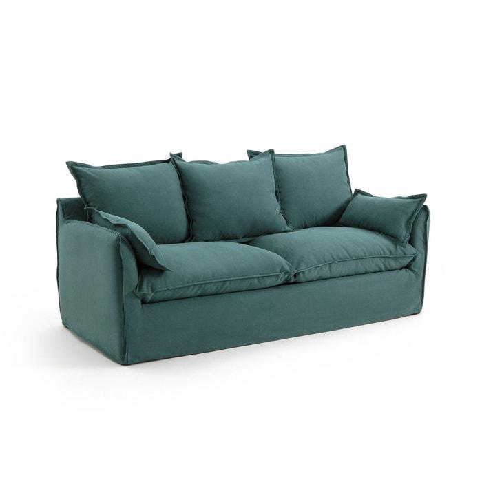 canap convertible en coton lin odna bultex la redoute. Black Bedroom Furniture Sets. Home Design Ideas