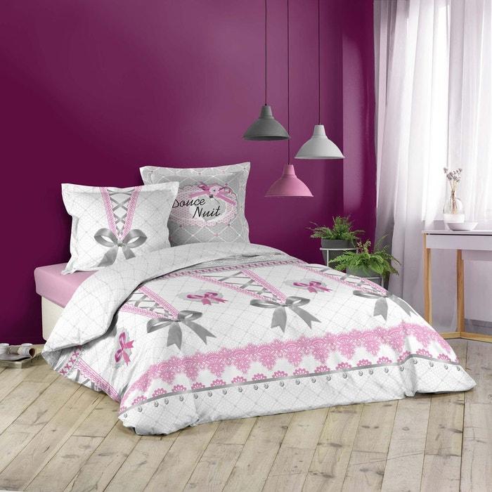 parure housse de couette collection joli corset rose douceur d 39 int rieur la redoute