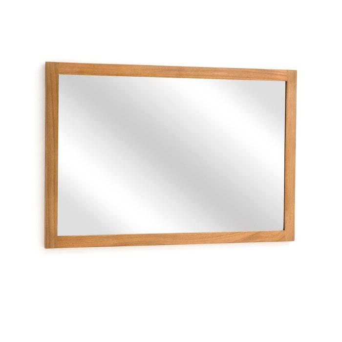 Badezimmerspiegel Rechteckig.Badezimmerspiegel Rechteckig 90 Cm Akazienholz La Redoute