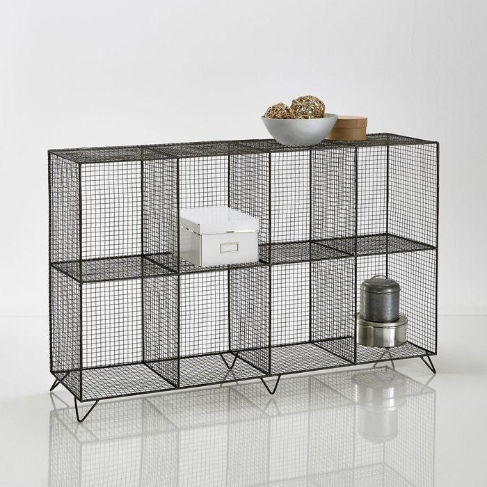 tag re en m tal filaire 8 casiers ar glo la redoute interieurs la redoute. Black Bedroom Furniture Sets. Home Design Ideas