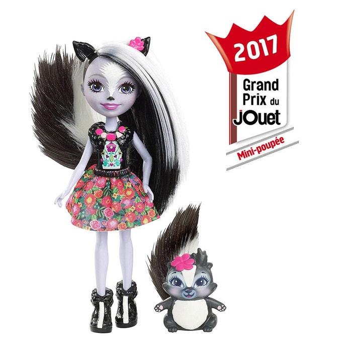 Enchantimals - Mini-poupée Moufette - MATDYC75  MATTEL image 0