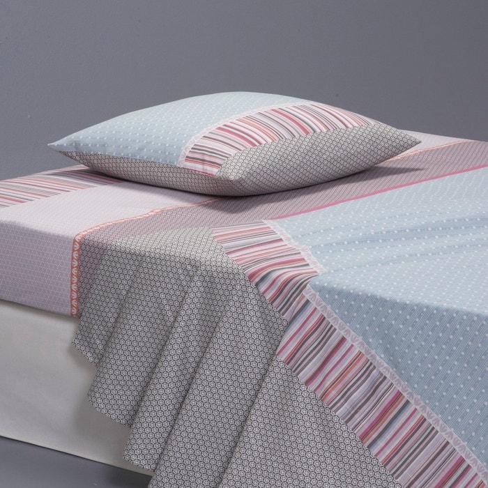 drap imprim metismix la redoute interieurs la redoute. Black Bedroom Furniture Sets. Home Design Ideas