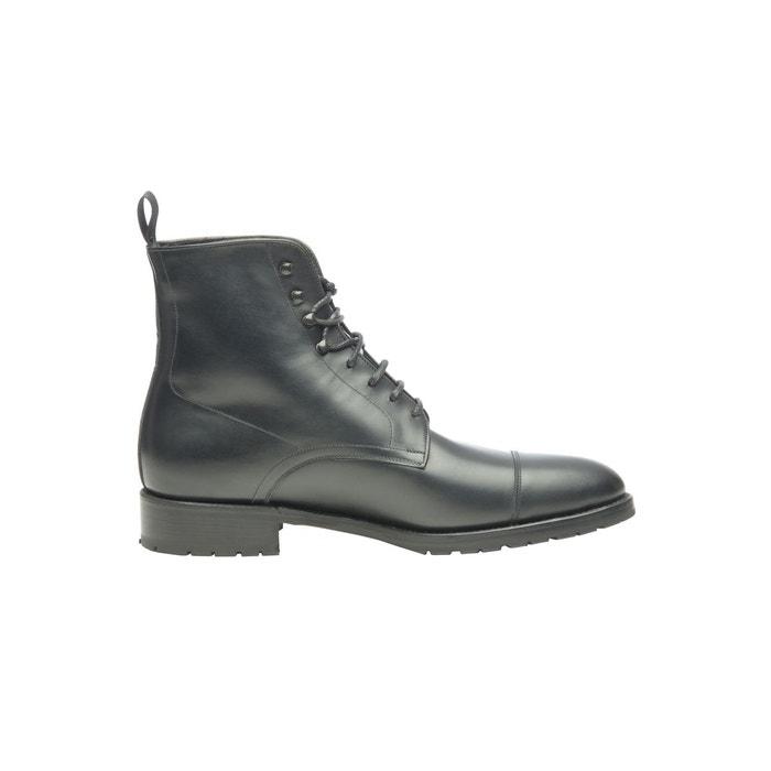Boots derby en noir  noir Shoepassion  La Redoute