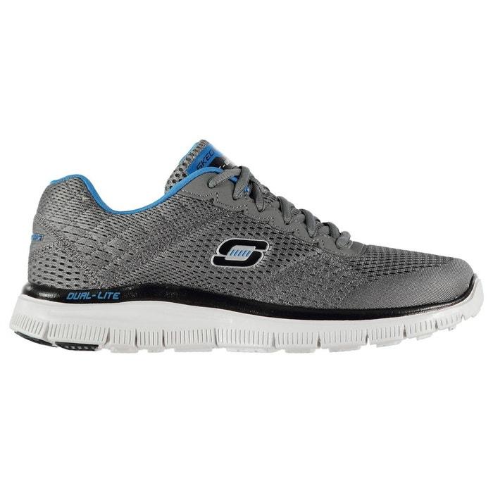 Baskets de running respirant chrcoal/blue Skechers