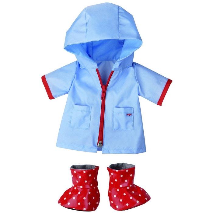 Vêtements  pour poupée de 38 cm :  Gouttes de Pluie HABA