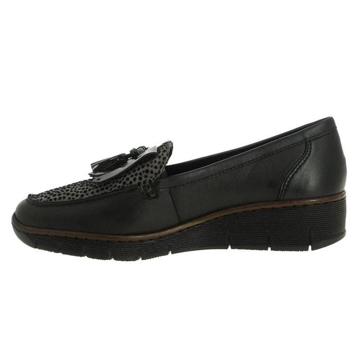 RIEKER à chaussures lacets lacets cuir RIEKER à chaussures chaussures lacets à RIEKER cuir na4OqxnSw