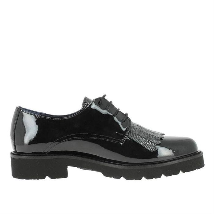 Chaussures à lacets cuir noir Dorking Professionnel Vente Pas Cher l3UlvxZY