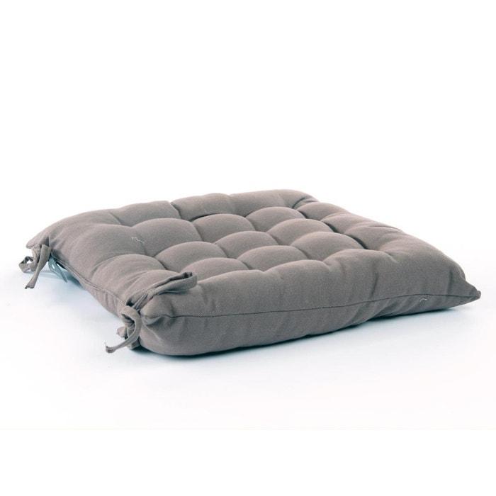 Coussin pour chaise de jardin taupe 38 x 38 cm - Hesperide | La Redoute