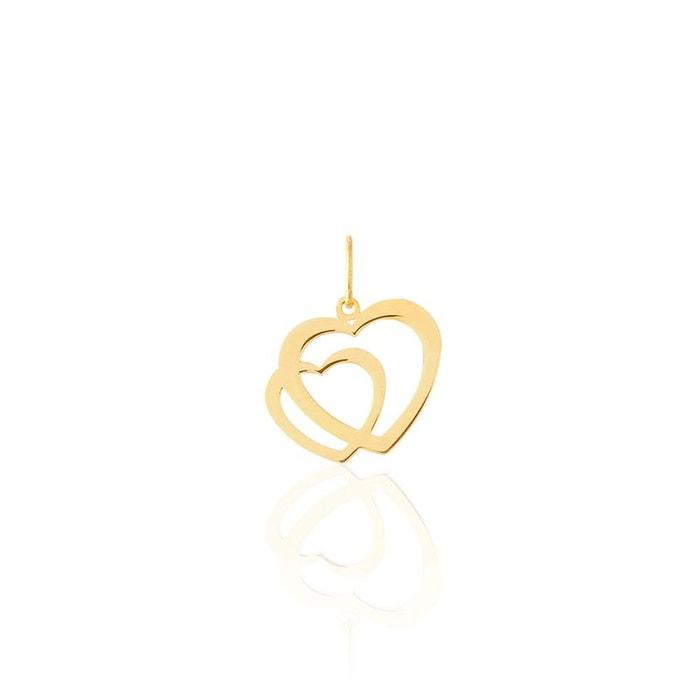 Pendentif or coeur jaune Histoire D'or | La Redoute Marque Discount Neuf Unisexe Réduction Limite J34of62y