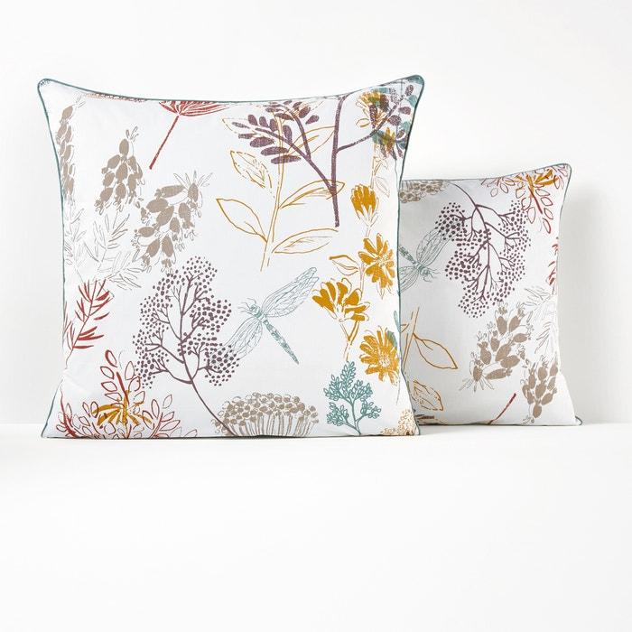 BOTANIQUE Cotton Percale Pillowcase  La Redoute Interieurs image 0