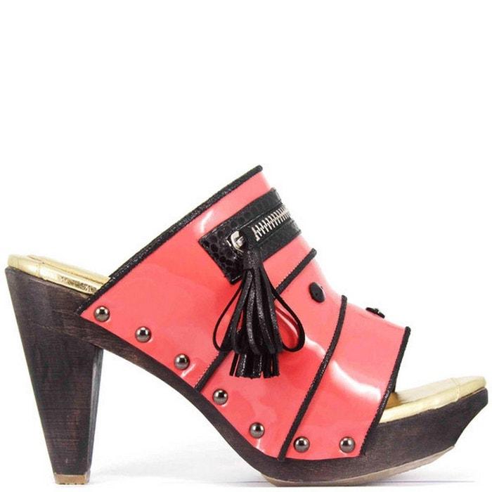 Chaussure femme en cuir breeze  rose Pring Paris  La Redoute