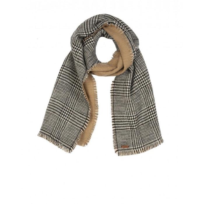 e8352050783c Echarpe laine acrylique noir Chevignon   La Redoute