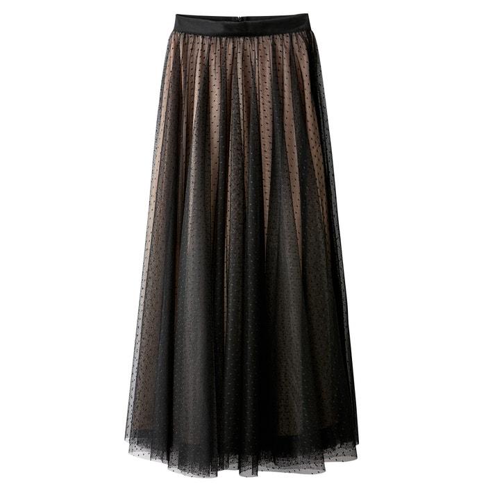 Pleated Polka Dot Tulle Skirt  MADEMOISELLE R image 0