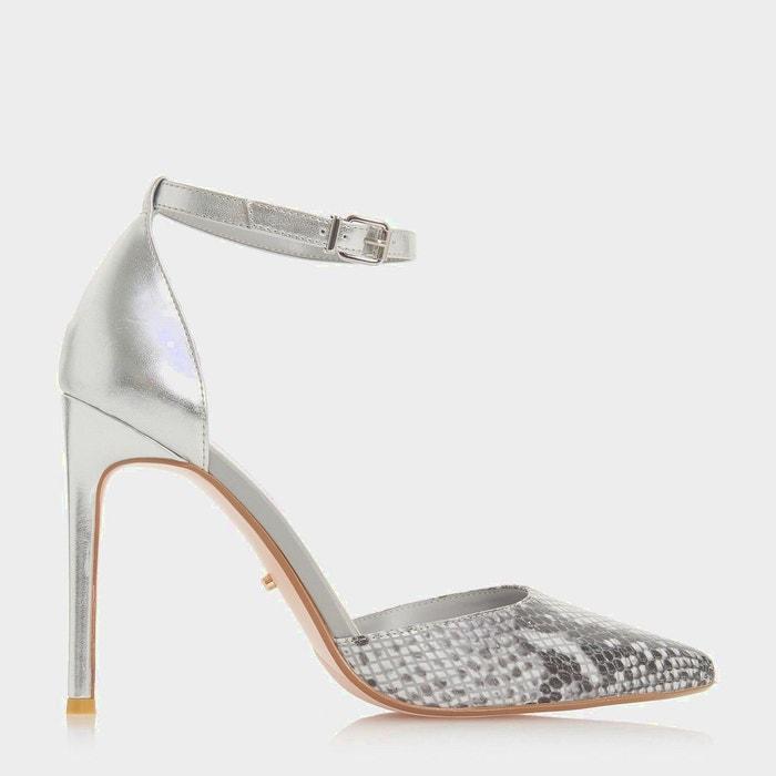 a1c2efe6ec5 Chaussures à talons hauts et bout pointu avec imprimé léopard - dixey Dune  London