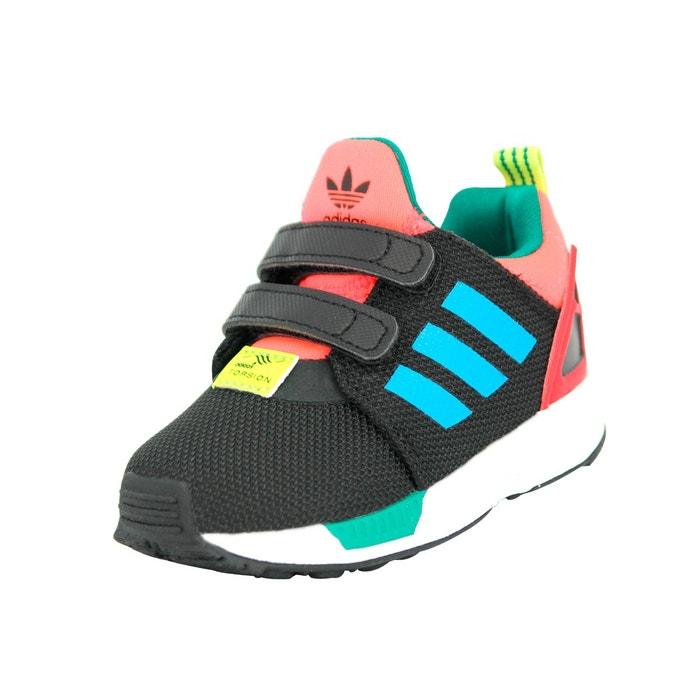 buy popular 637b3 8b5ad basket adidas zx flux bebe enfant vert fluo basket zx flux c