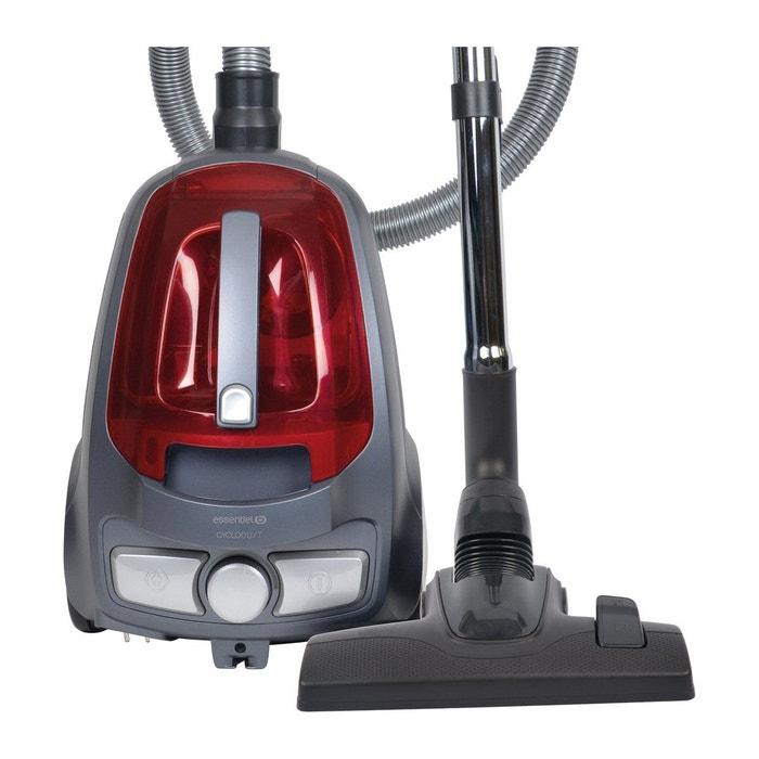 aspirateur sans sac essentielb eas 803 cyclodust rouge essentiel b la redoute. Black Bedroom Furniture Sets. Home Design Ideas