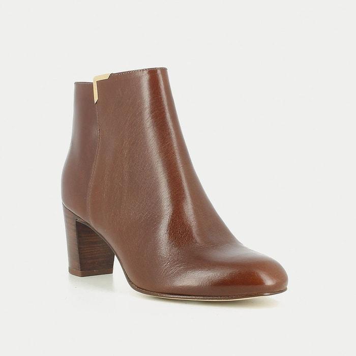 Boots cuir dey Jonak