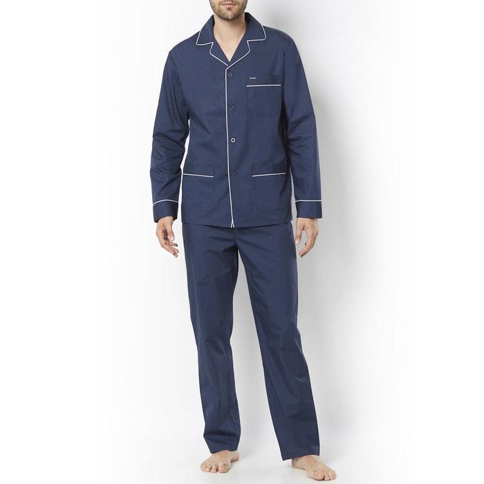 Image Pyjama veste col tailleur, pur coton R essentiel