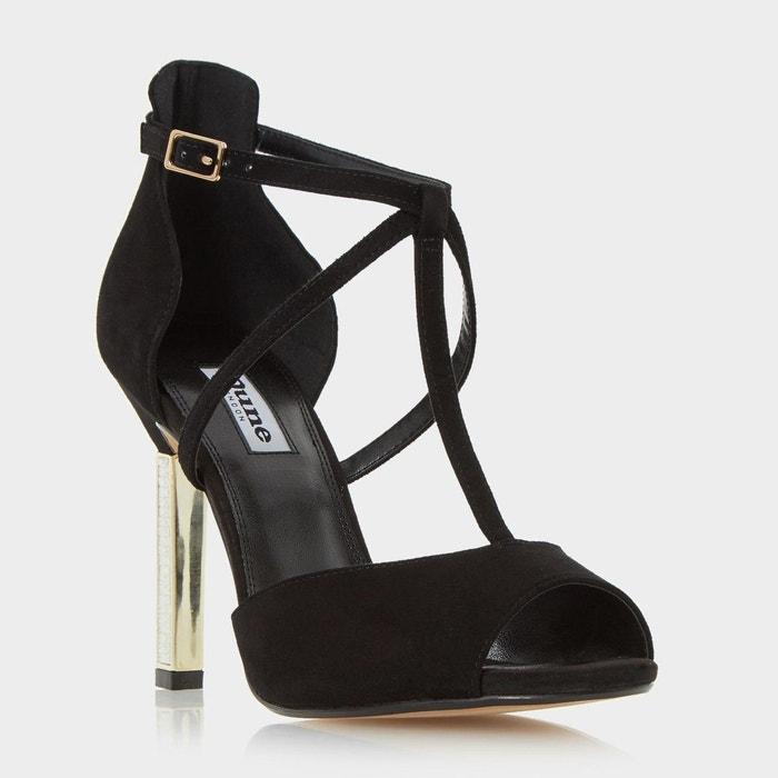 Choix La Vente En Ligne Jewelled heel peep toe sandal Images Footlocker Naturel Et Librement n4QJy9