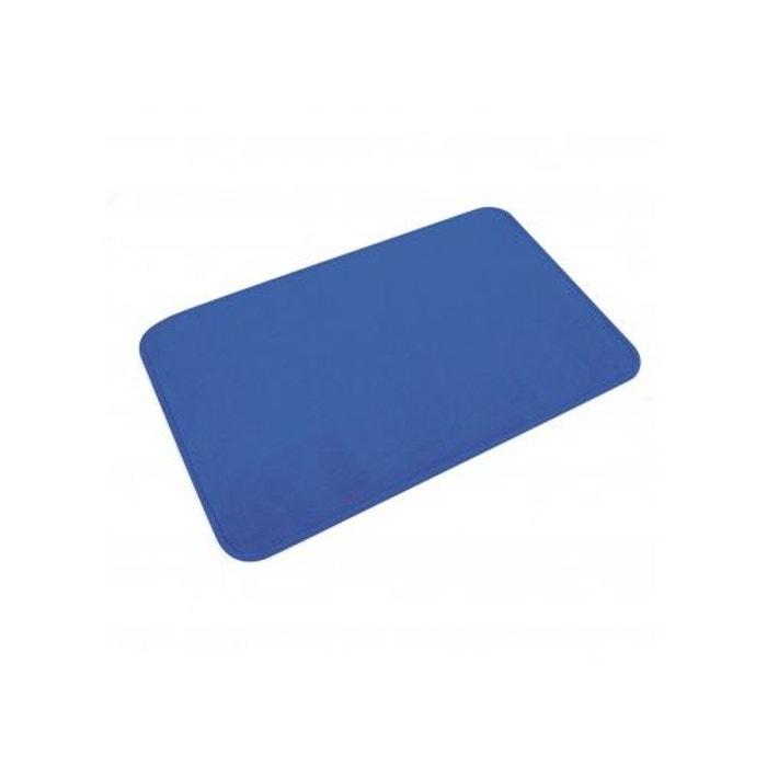 Tapis De Bain Uni En Microfibre Bleu Roi Home Bain La Redoute