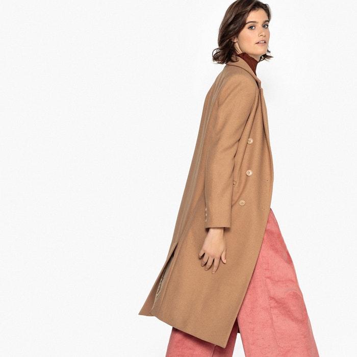 Cappotto lungo in misto lana  La Redoute Collections image 0