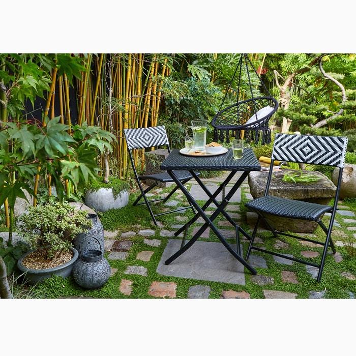 Table pliante moonbaza la redoute interieurs la redoute for Table jardin la redoute