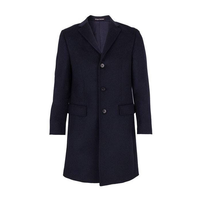 manteau laine et cachemire trois quart bleu bleu roi bregal pelchat la redoute. Black Bedroom Furniture Sets. Home Design Ideas
