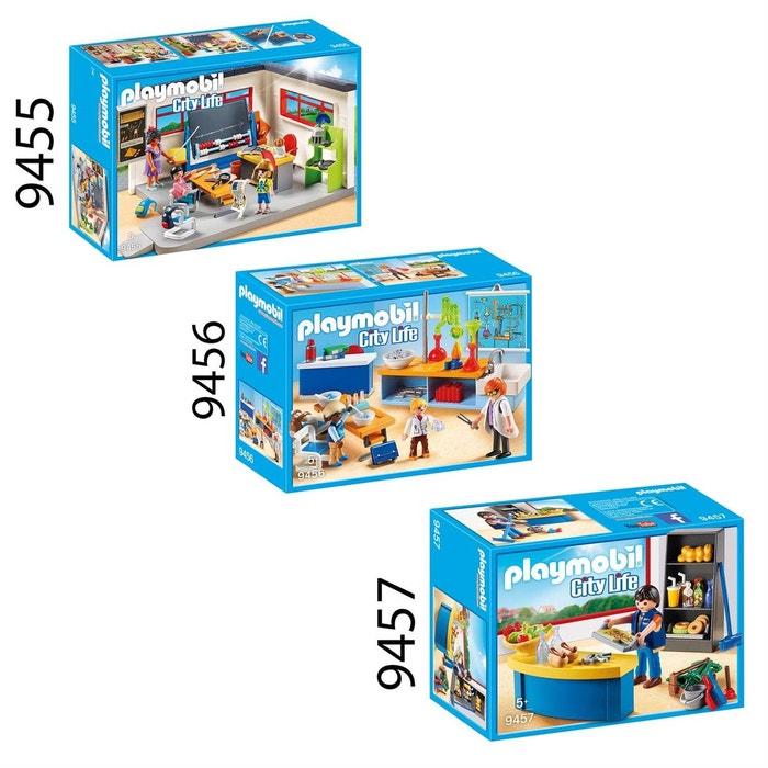 Playmobil 9455 56 57 City Life   Set De 3 Boites Sur Le Thème