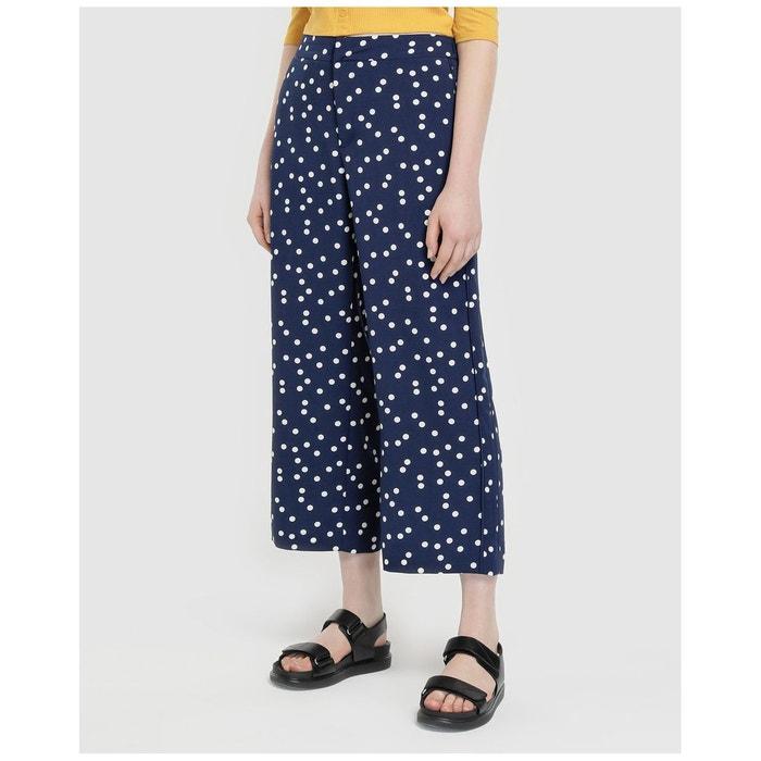 Pantalon Redoute Cropped Motif À Easy WearLa 0wPnOkNX8