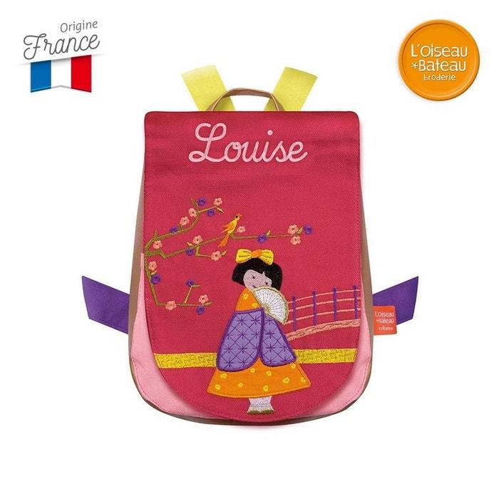 Sac à dos Tonkinoise Brodé Louise - L'Oiseau Bateau 6zAwsjN