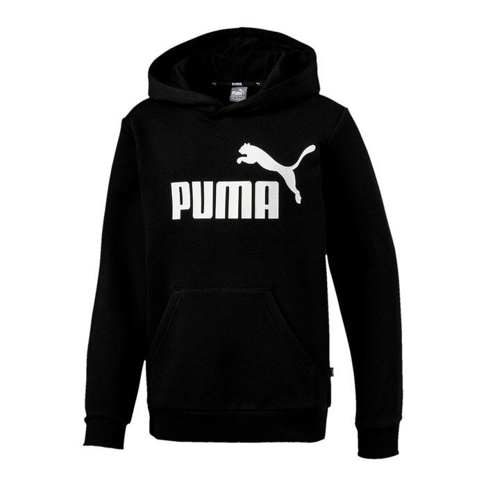sweat puma noir cheap online